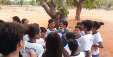 Visita do alunos da rede municipal de Mossoró